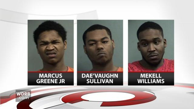 3 suspects in series of shooting across Louisville appear in court