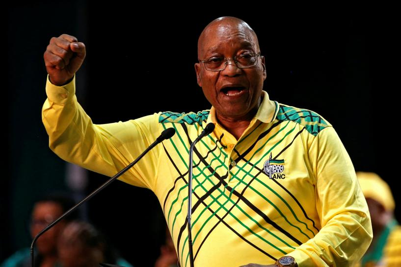 South Africa's Zuma says influence-peddling in his government to be in