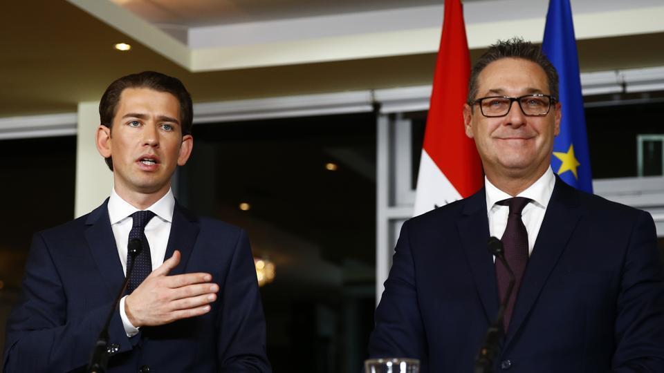 New Austrian government pledges pro-EU approach, more police