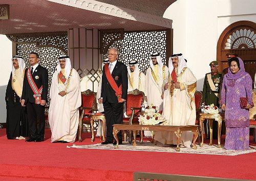 Najib joins Bahrain's National Day celebration