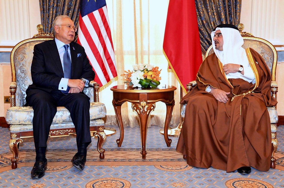 Najib menghadap Putera Mahkota Bahrain