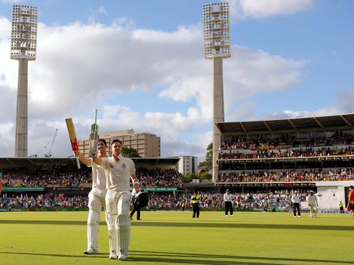 Cricket: Marsh completes family hat-trick of Ashes centuries https://t.co/kFkaRRQkq0 https://t.co/SrgIn7TG4l