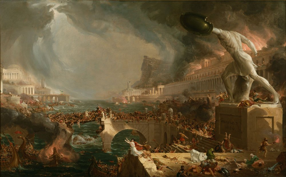 Climate Change, Disease and the Fall of Rome