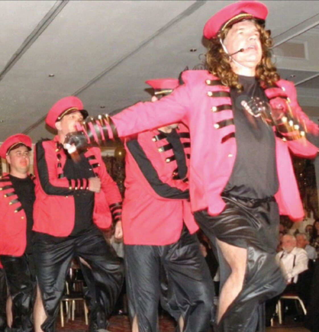 Sam allardyce dressed up as cheryl cole at a christmas party - never ...