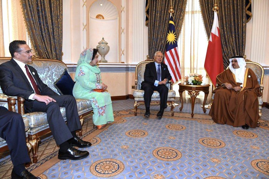 Najib has audience with Bahrain Crown Prince
