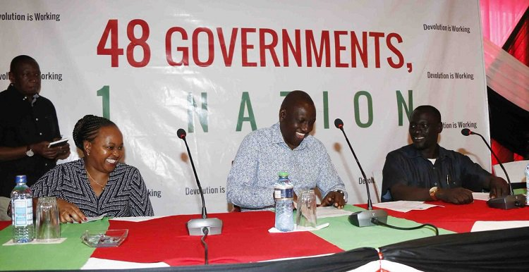 Ruto: County and national governments interdependent