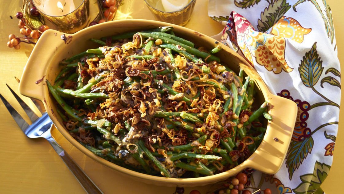 How to add a modern twist to green bean casserole