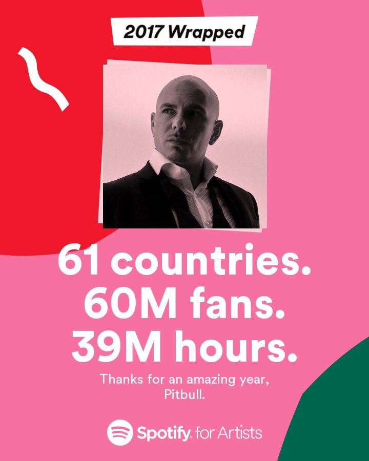 Dale @Spotify. Without the fans this wouldn't be possible! https://t.co/pKBVCaYygL https://t.co/2mzzKa51xG