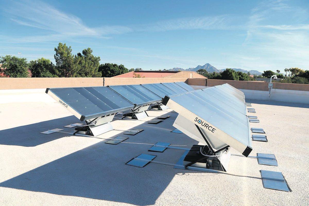 test Twitter Media - Het Amerikaanse bedrijf Zero Mass Water bouwt bijzondere zonnepanelen. Deze zetten zonne-energie niet om in elektriciteit, maar in schoon drinkwater. https://t.co/ABtGx5tmzV https://t.co/Ua3XbTOXDA