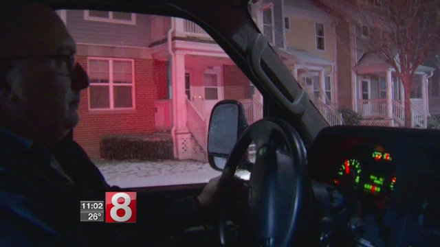 Ride-along with first responders as they deal with winter weather