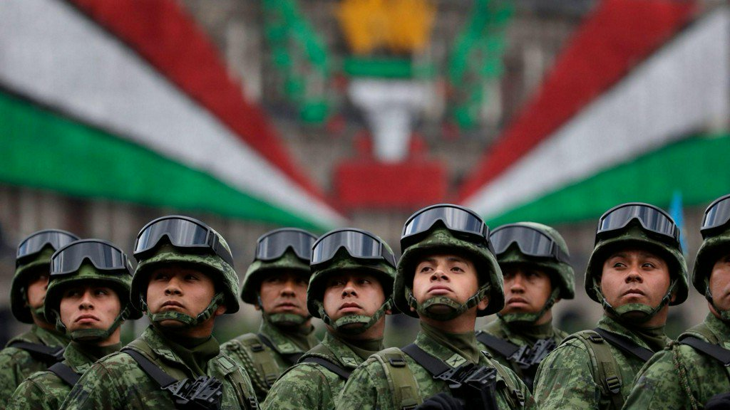 A decade into Mexico's deadly drug war, lawmakers give the military more power