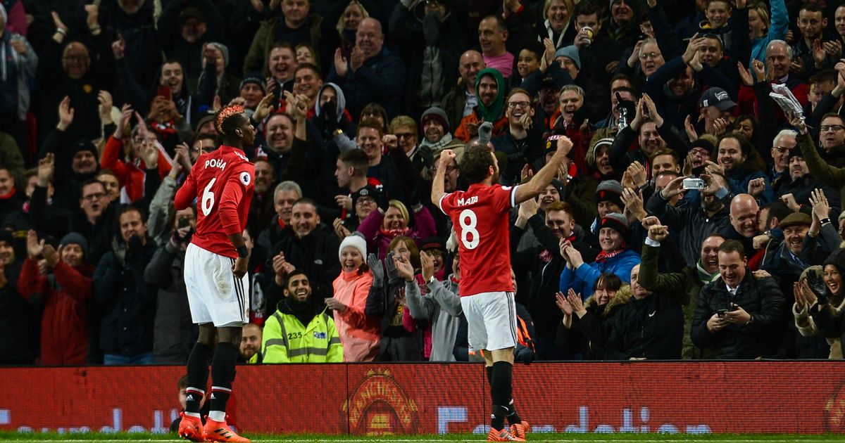 Manchester United chants outrank Arsenal and other clubs