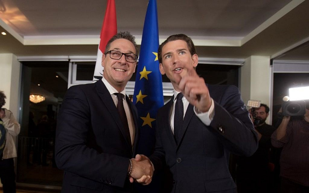 Austrian far-right gets interior, defense, and foreign ministries