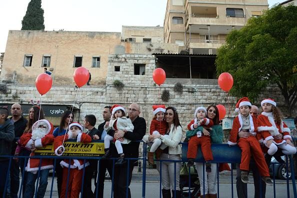Christmas celebrations in Nazareth are still on, despite Trump