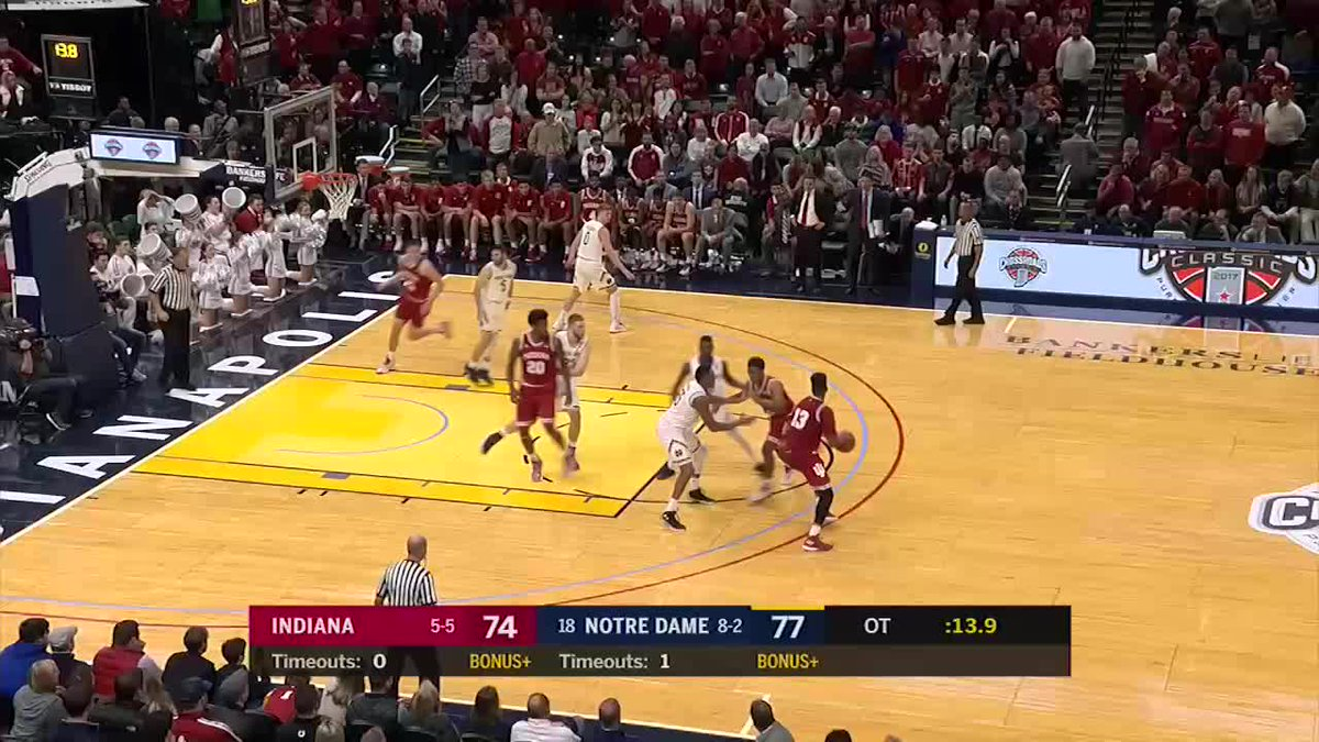 RT @marchmadness: WHAT A ENDING TO THE #CROSSROADSCLASSIC  (Via @BigTenNetwork)  https://t.co/VsGDG4bsqy