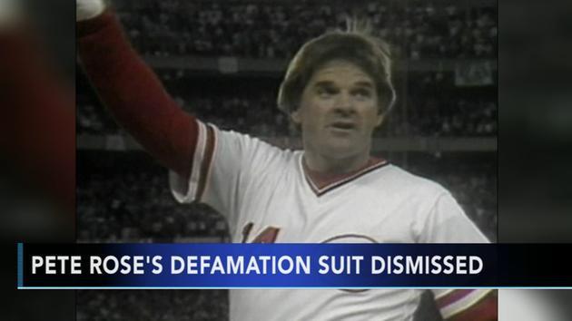 Pete Rose defamation lawsuit dismissed after agreement