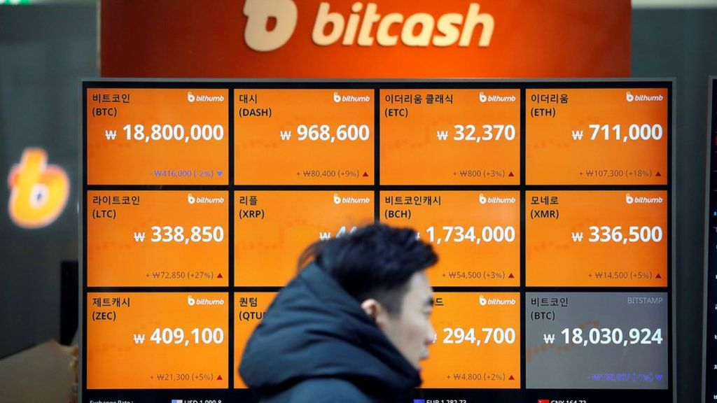North Korea 'hacked crypto-currency exchange in South'