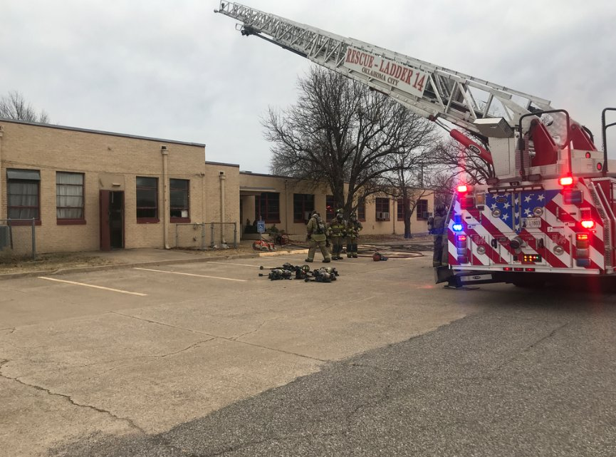 No injuries reported after fire at NW Oklahoma City church