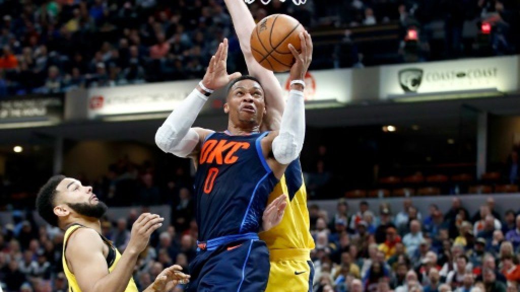 Westbrook nets triple double for never-say-die Thunder