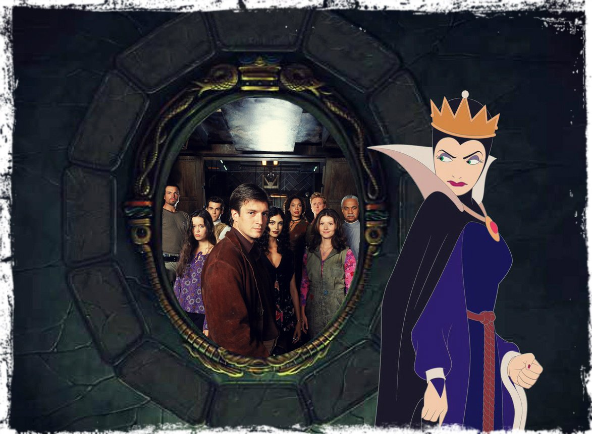 Evil queen mirror mirror on the wall