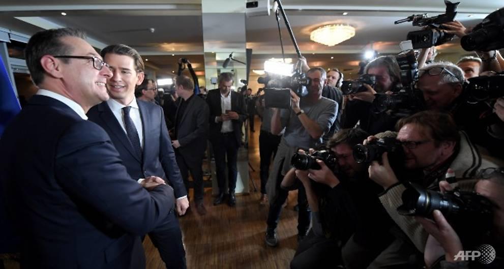 Europe's far-right leaders hail 'historic' Austrian govt deal