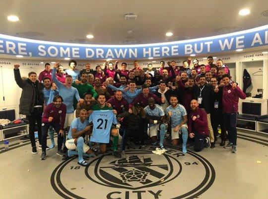 Man City dedicate Tottenham win to David Silva 👏🔵https://t.co/qxKxwTIUiw https://t.co/yRgpOWNH8W
