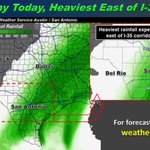 Saturday to be cold, bring 100 percent chance of rain