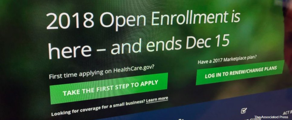 Sign-ups show health law's staying power in Trump era.