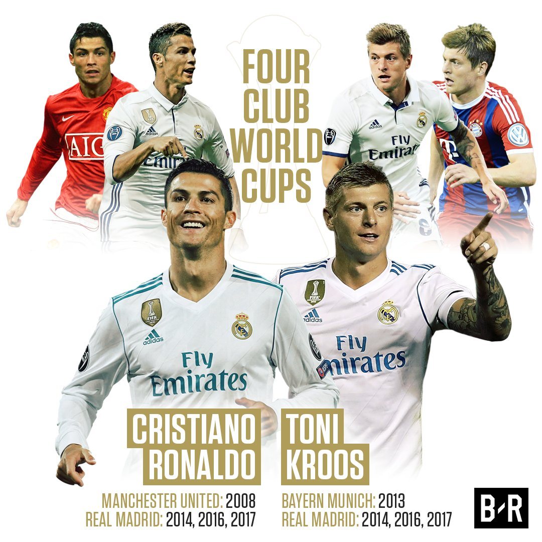 RT @brfootball: Ronaldo and Kroos love the Club World Cup 💪 https://t.co/kDgNZW6KvK
