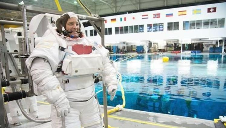 Massachusetts astronaut among 3 launching to International Space Station