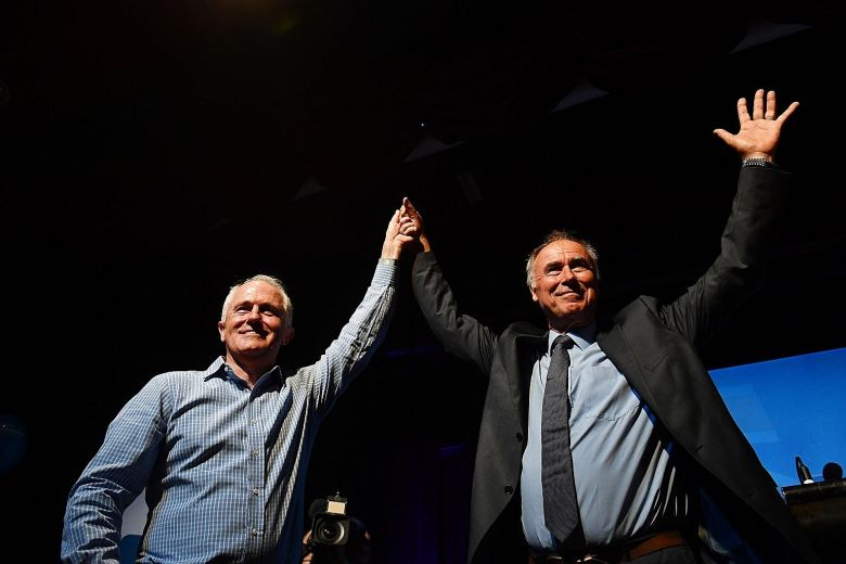 Turnbull govt wins crucial by-election