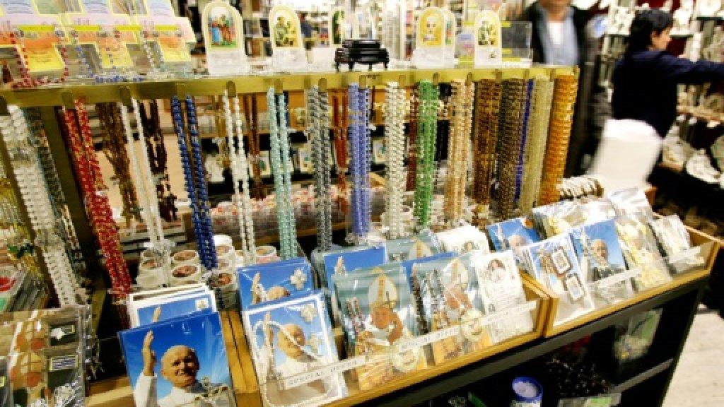 Saintly bones, blood not for sale, Vatican warns