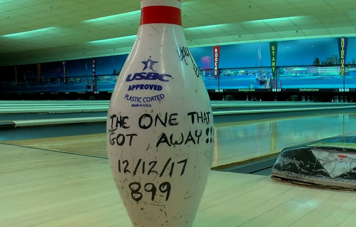Toledo bowler comes within one pin of perfect 900 series on last - | WBTV Charlotte