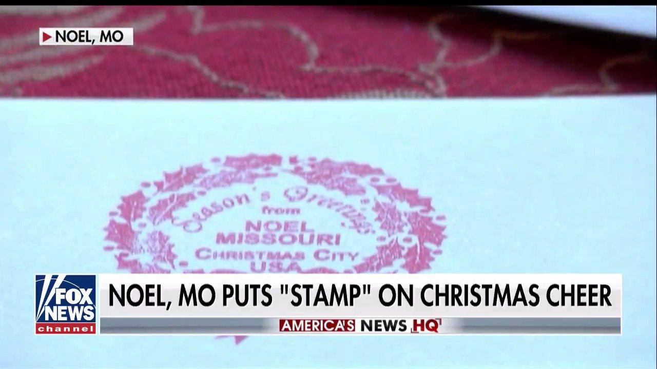 Noel, Missouri puts 'stamp' on #Christmas cheer; @EricShawnTV reports. https://t.co/VZDHSReHCp