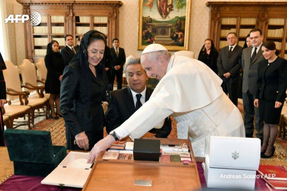 """El Vaticano devuelve a Ecuador """"la tzanza"""", un cráneo reducido de guerrero"""
