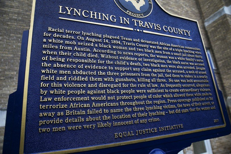 East Austin plaque unveiled to remember lynching victims