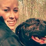 Woman viciously mauled to death by her own pit bulls while taking them for a walk