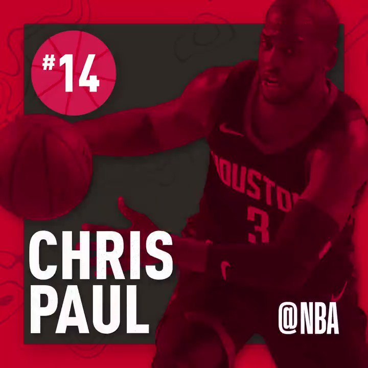 Congrats to @CP3 for moving up to No.14 on the all-time #NBA STL list! #Rockets https://t.co/PQDYbgyii7