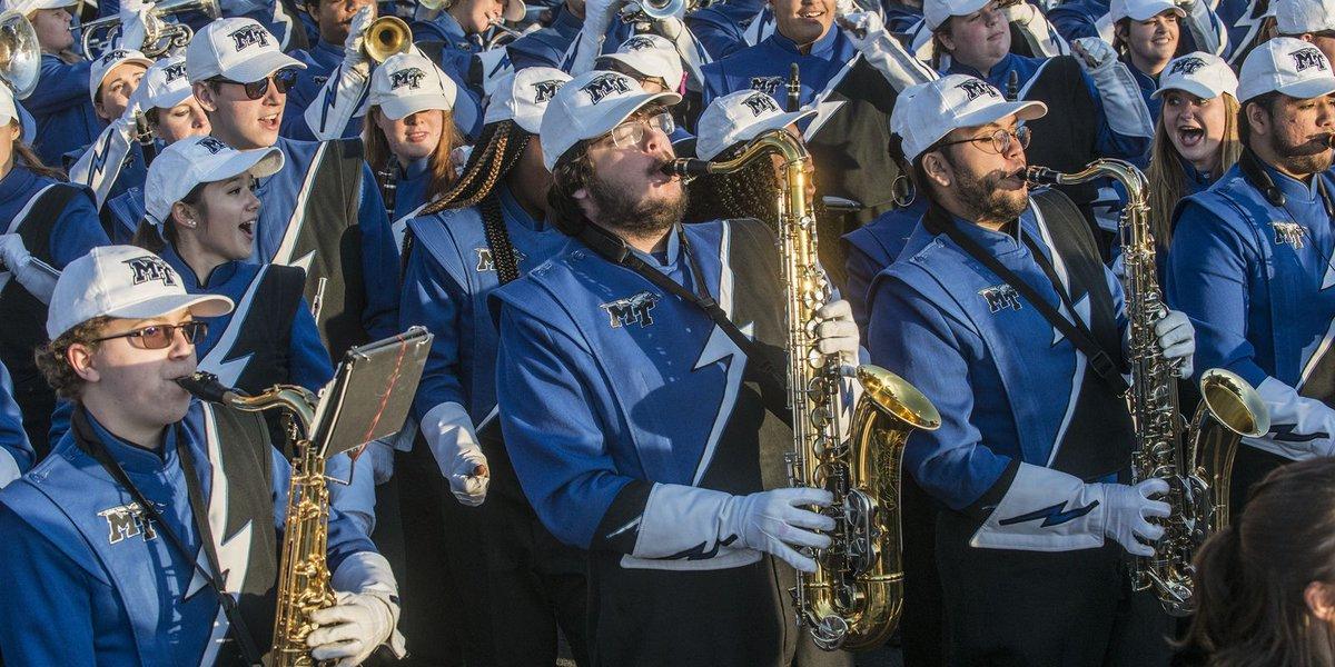 Camellia Bowl Fan Fest: MTSU's Band of Blue