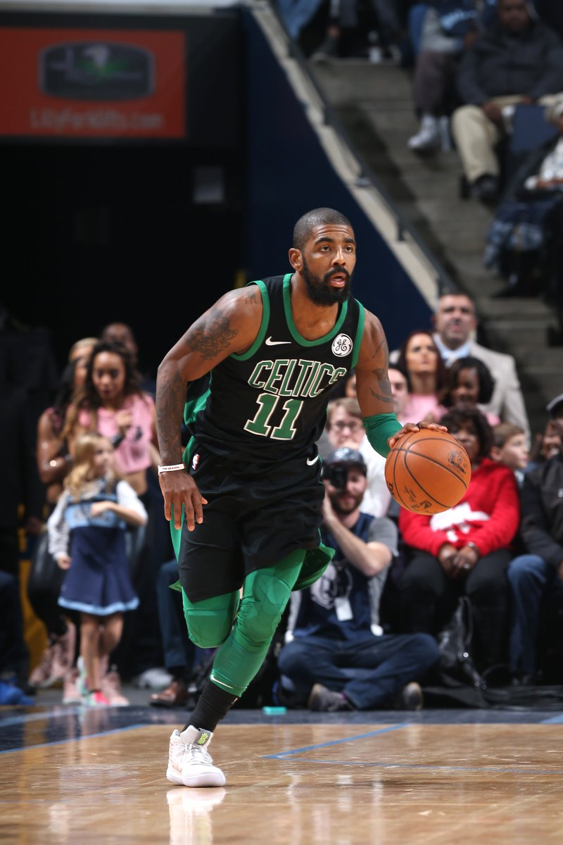 Kyrie (20) & Tatum (19) pace BOS.  celtics take it on road over memgrizz 102-93, overcome 30 PTS & 10 REB from Marc Gasol. https://t.co/LdenAAqSdl