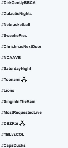 Trending News: #DBZKai is trending in the US alongside #Toonami. Prepare for the final battle. Only Toonami. https://t.co/TwfsZmeRZP