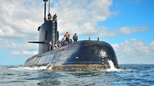Argentina fires head of its navy over missing submarine