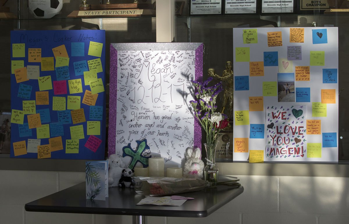 At memorial service, teen killed in Iowa bus fire remembered as 'a loving little gal'