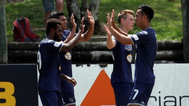 Auckland City clear at the top as national men's football league breaks for Christmas