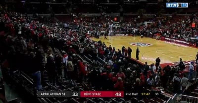 Value City Arena evacuated after alarm tripped during Ohio State-Appalachian State