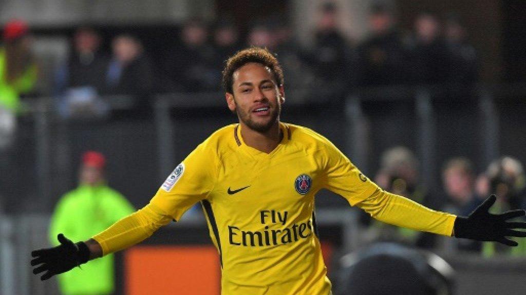 Neymar shines on return as PSG beat Rennes
