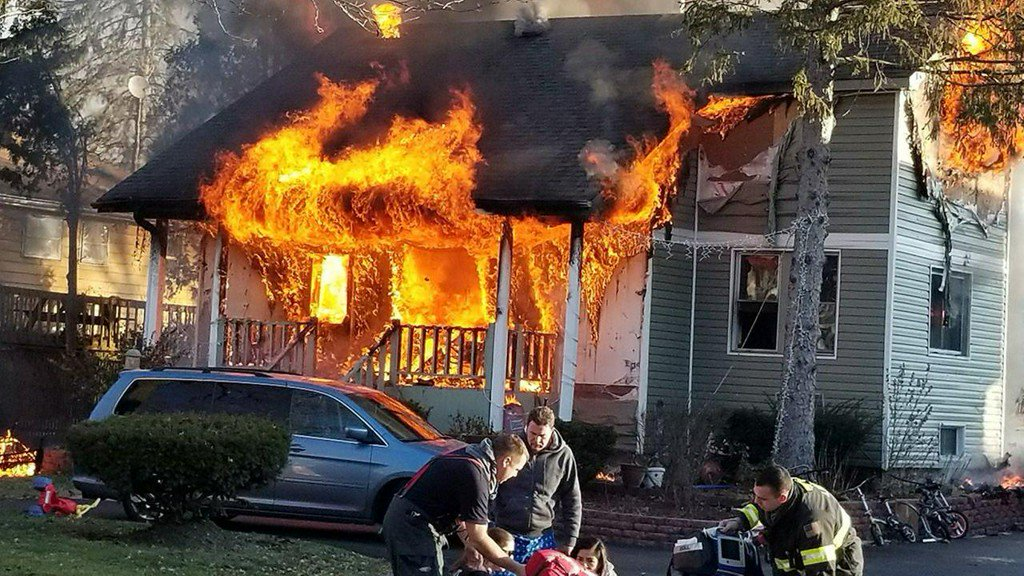 Six hospitalized after Lisle house fire; Christmas tree suspected as cause