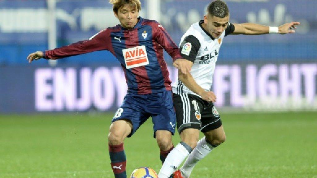 Eibar deal more damage to Valencia's title hopes