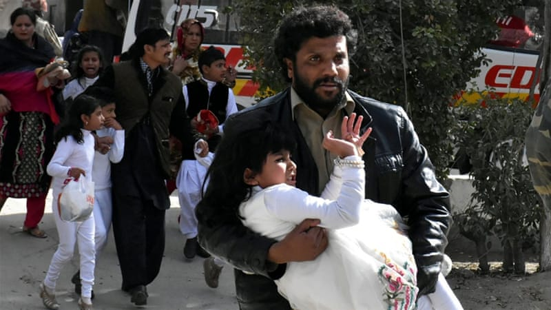 Update: At least 8 people killed in Quetta church attack in Pakistan, officials say
