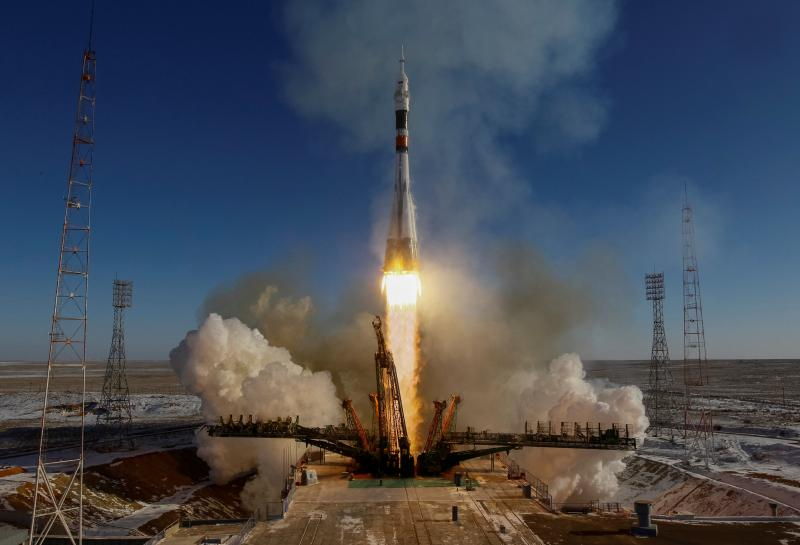 U.S., Russian, Japanese crew blasts off for space station https://t.co/QarGY9vOQN https://t.co/ADgSTUph2R